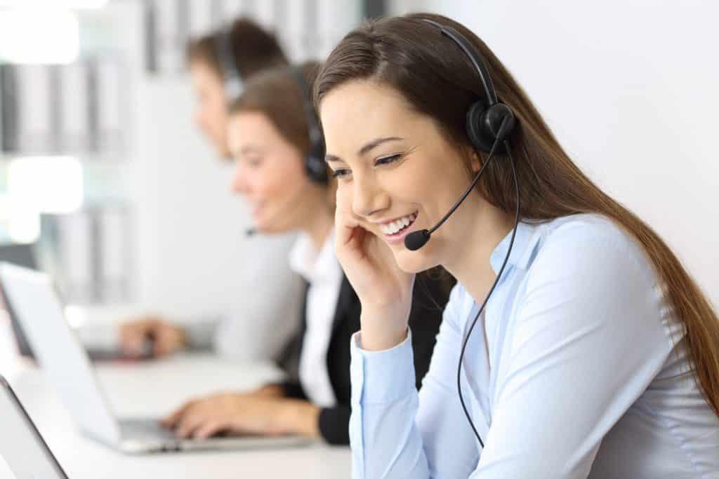 call centre customer service test