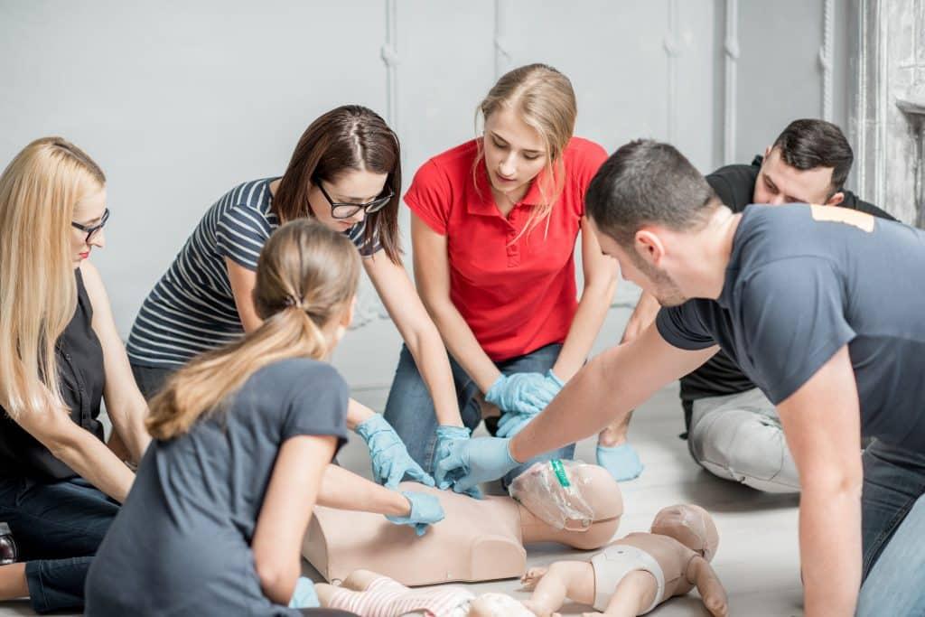 first aid skill test