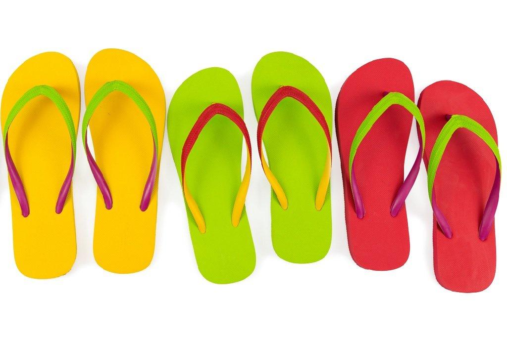 flip flops for fop