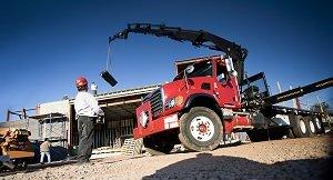 HIAB lorry loader skill test