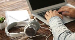 audio typing skill test