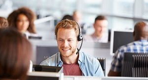 call centre conversation skill test