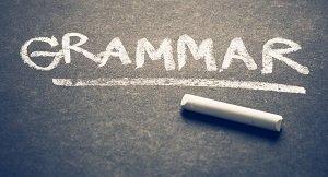 grammar skill test