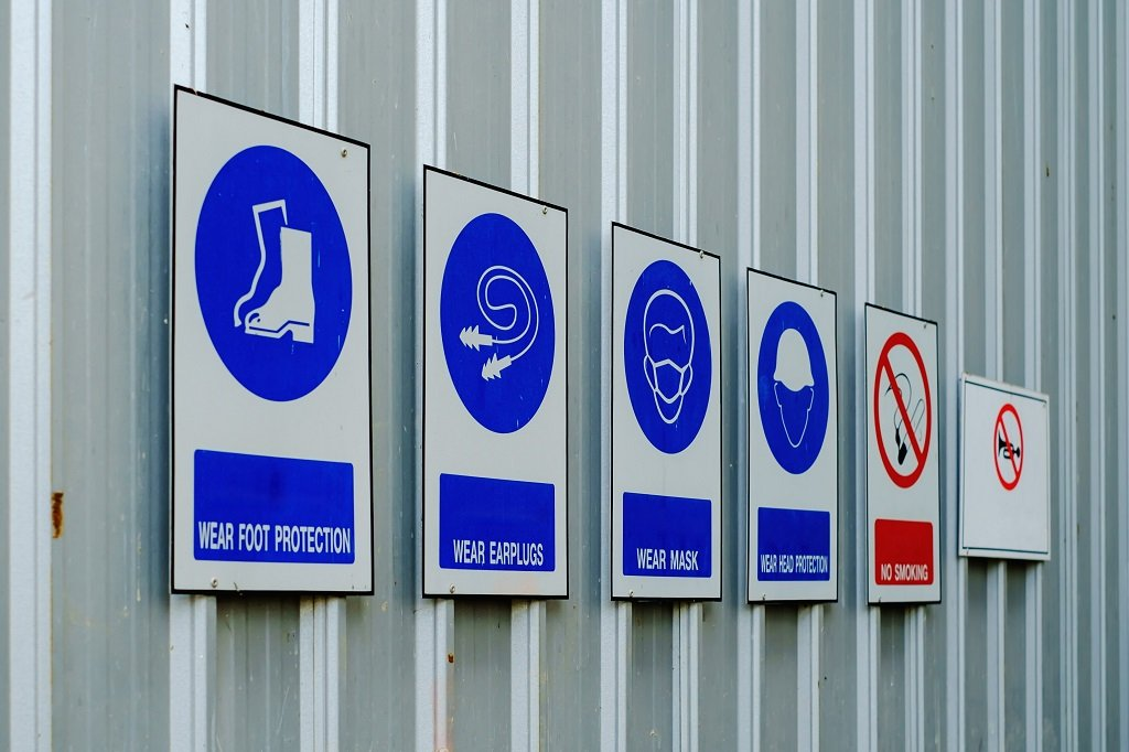 Safety Signs & Signals Skill Test