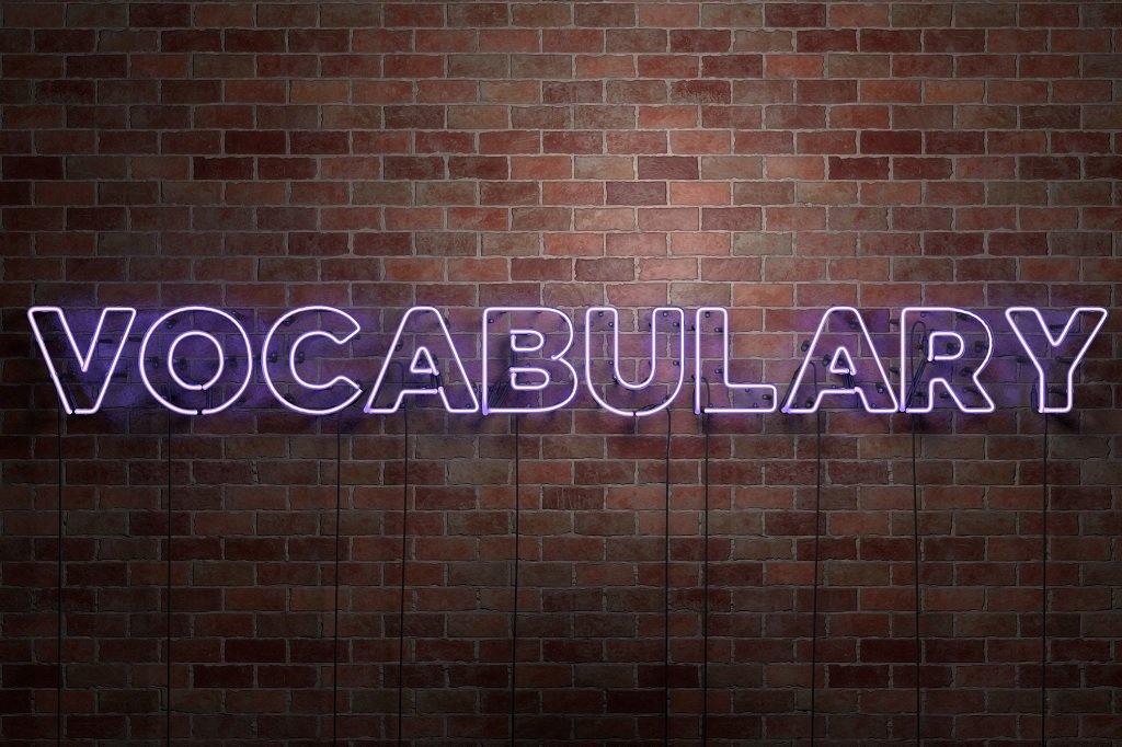Vocabulary skill test