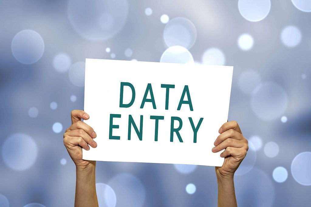 what is a data entry skill test