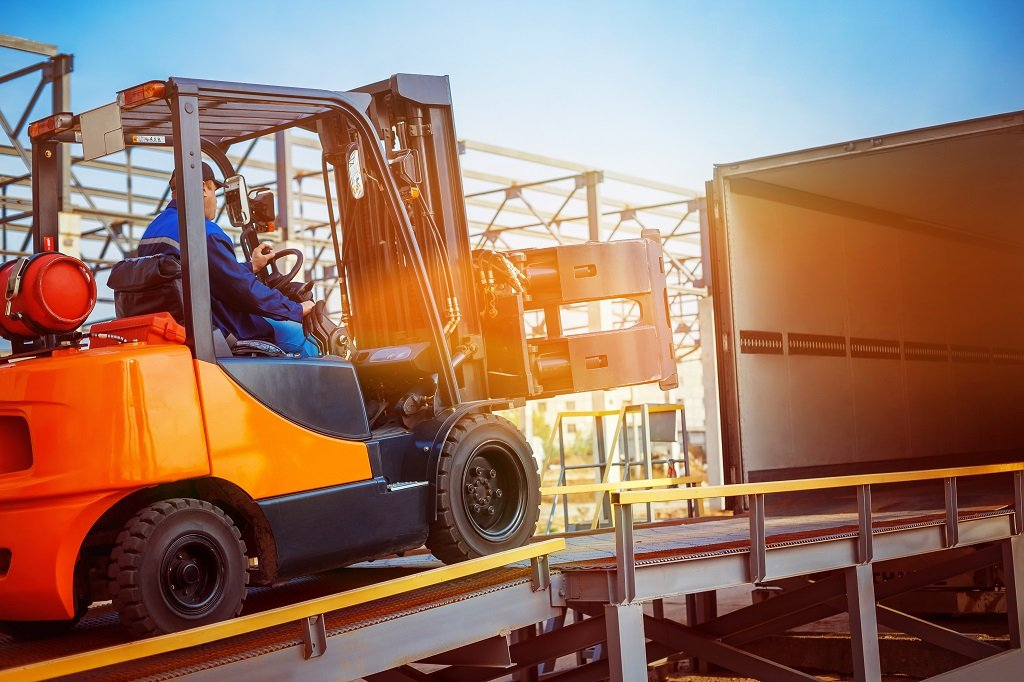 what is a forklift skill test
