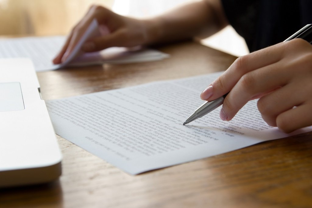 what is a legal proofreading skill test