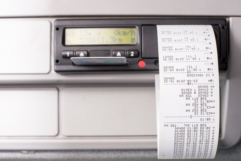 what is a manual tachograph skill test