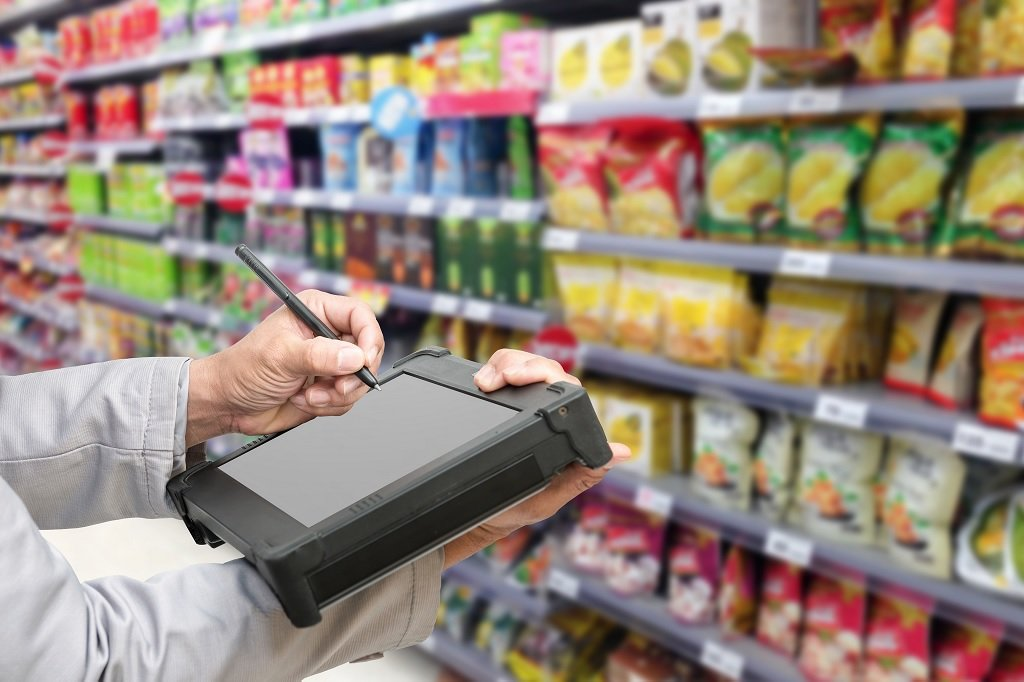 what is a retail stock control skill test